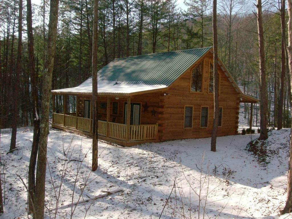 Log Cabin In The Woods Picture Log Cabin in the Woods