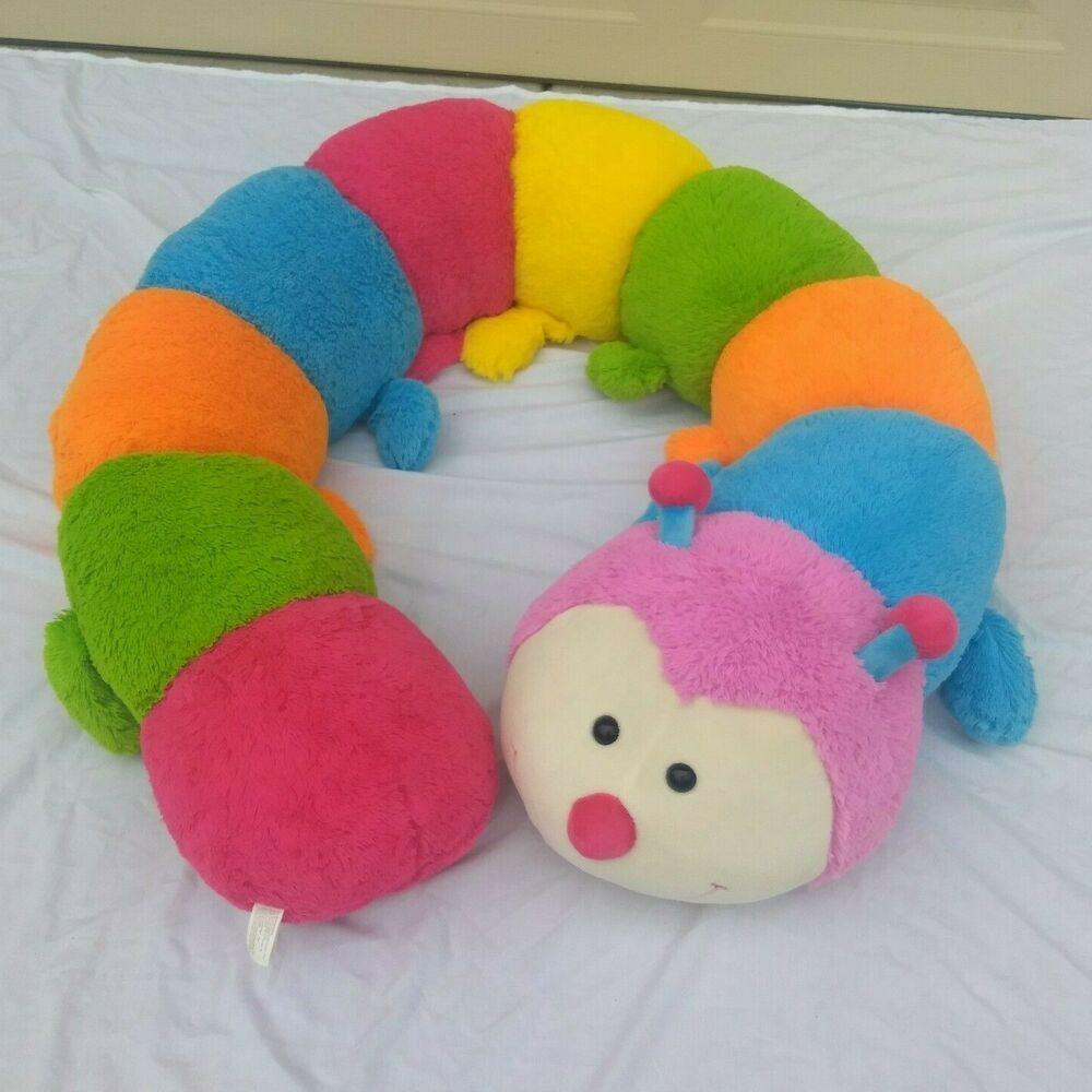 Giant 8ft Jumbo Best Made Toys Stuffed Caterpillar Plush Animal