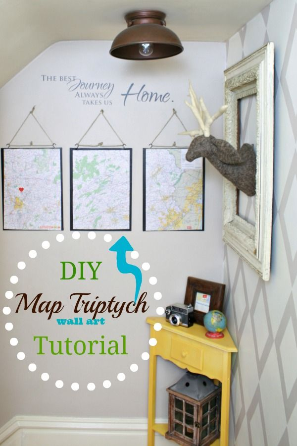 DIY Show Off | + DIY LIfe | Pinterest | Triptych, Diy wall art and ...