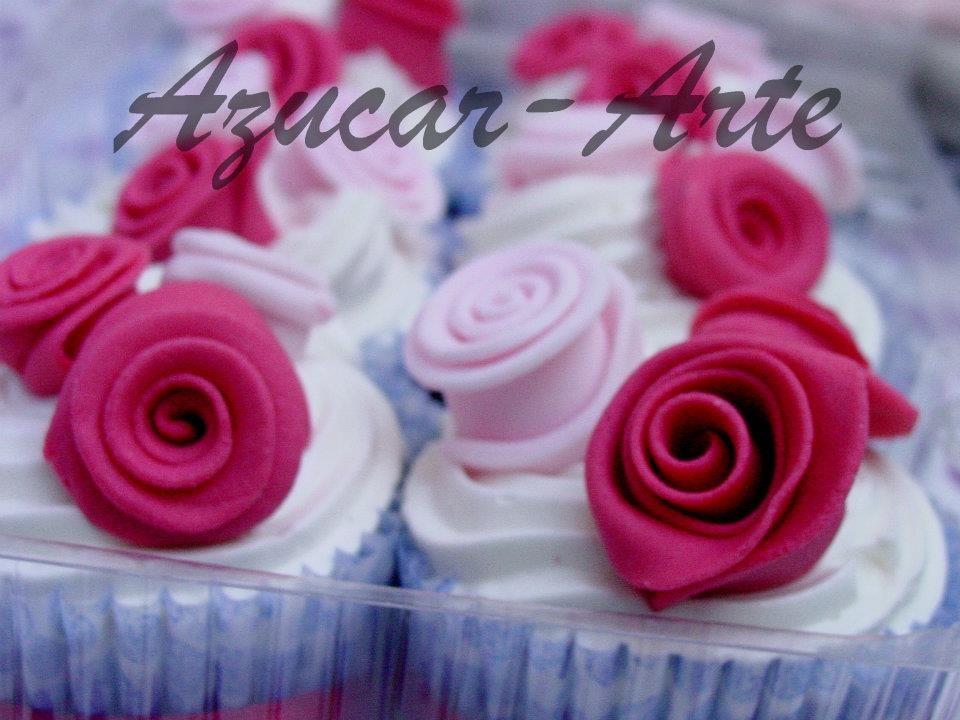 Cupcakes Shabby Chic www.azucar-arte.com.ar   Azucar ...