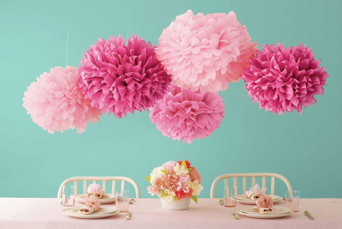 how to make hanging flower balls out of tissue paper - Vaydile ...