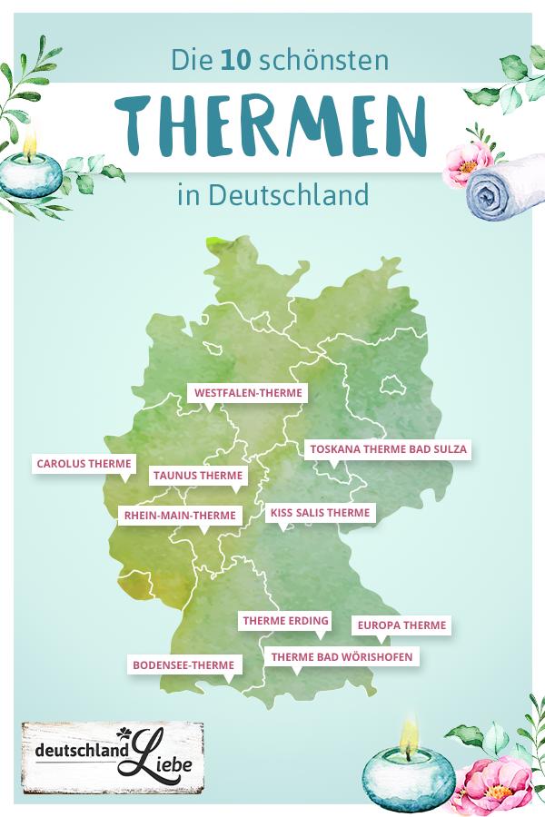 sauna deutschland karte ᐅ Thermen   Infos und Angebote für euren Urlaub | Urlaubsguru