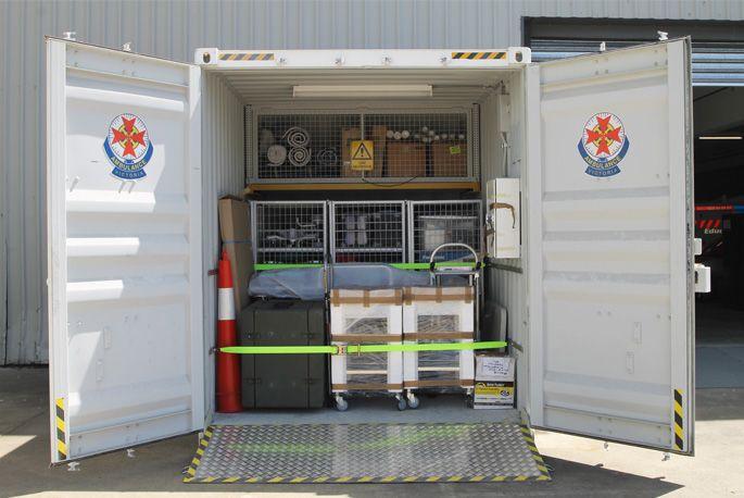 Portable Medical Clinics - On the Move   Royal Wolf Australia