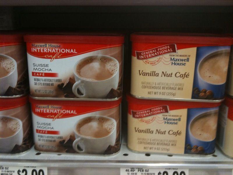 general foods international coffee french vanilla