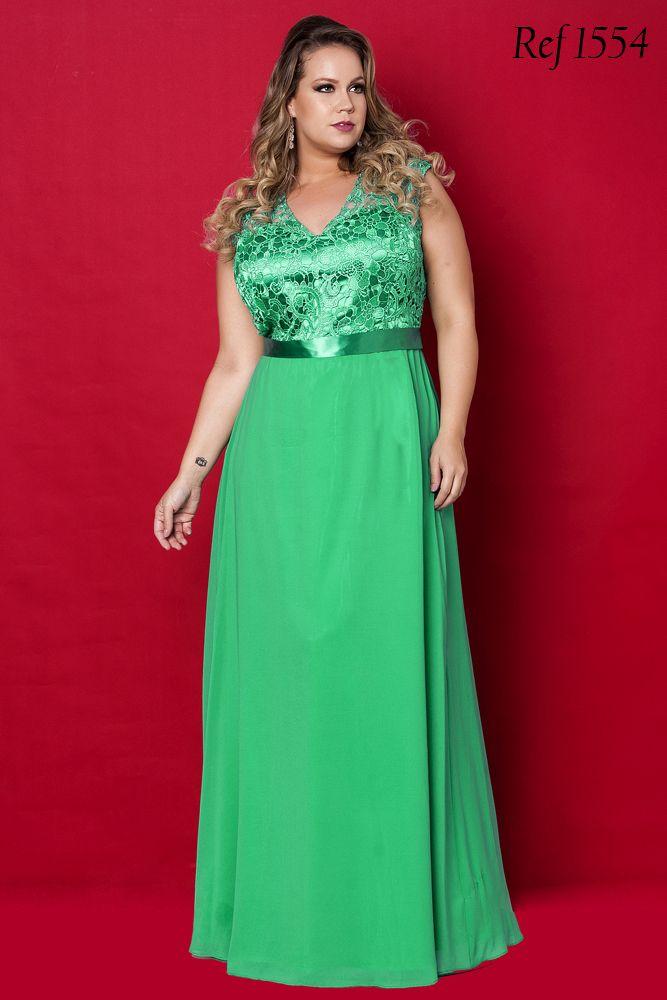 504776575 Vestidos Plus Size - Aiza Collection … | vestidos plus | Vestidos ...