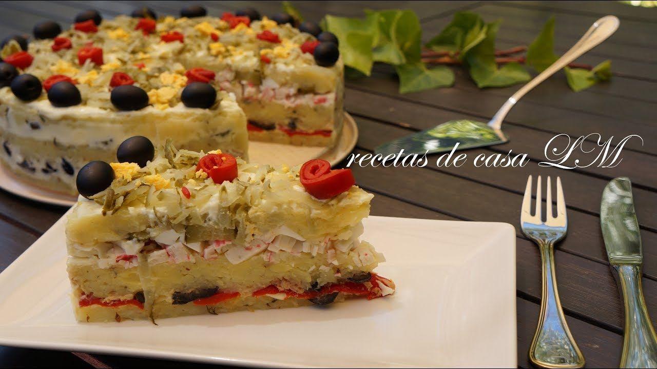 Pastel De Verano Receta Muy Fácil Pastel De Verano Pasteles Salados Pastel Fria