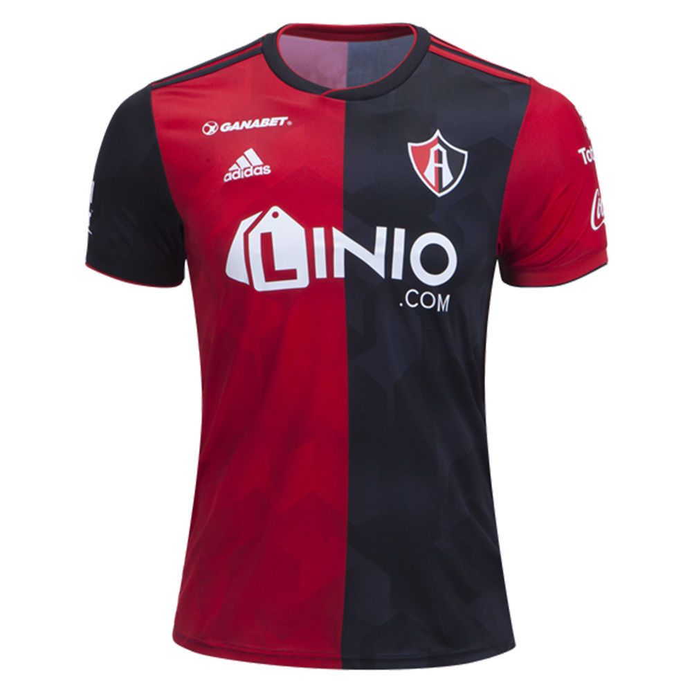 222eb6b6303 adidas Men s Atlas FC 18 19 Home Jersey Red Black CW5533 (eBay Link ...