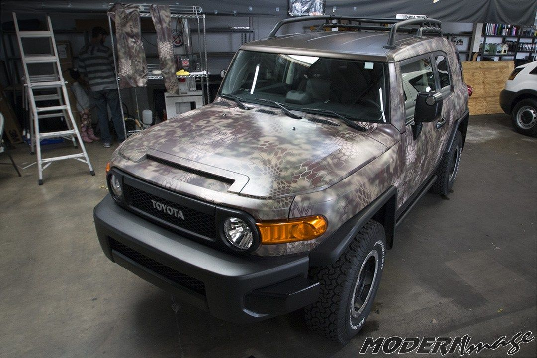 Get Your Vehicle Covered In A Kryptek Camo Car Wrap By Modern Image