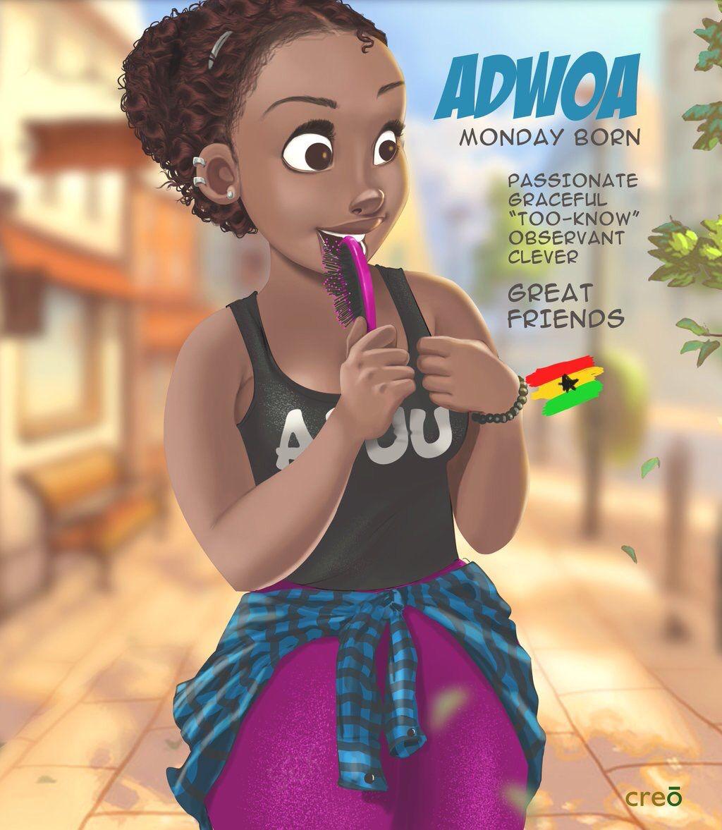 Ghana Names Ghana art, Black girl magic art, Black art