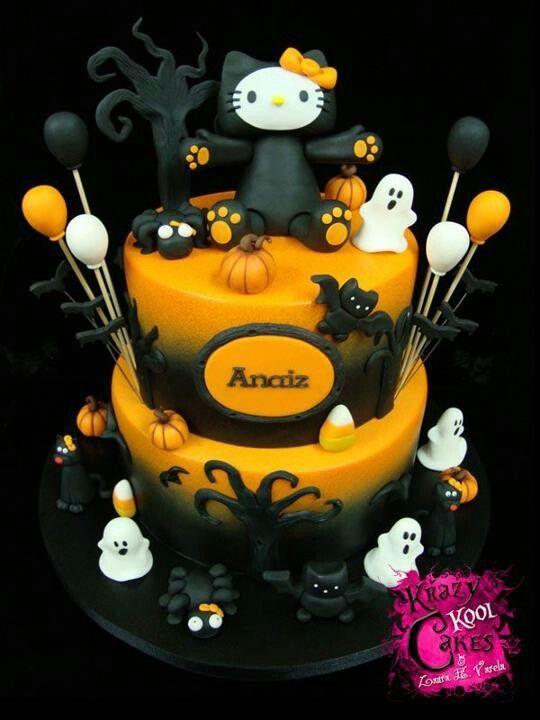 874 Hello Kitty Halloween Cute Food Stuffs Pinterest