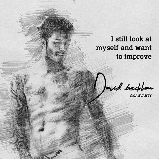 David Beckham Words
