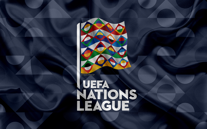 Download Wallpapers Uefa Nations League 4k Logo Emblem Silk Texture Gray Flag Europe Uefa Football Tournament National Teams Besthqwallpapers Com In 2020 Football Tournament League Uefa Football