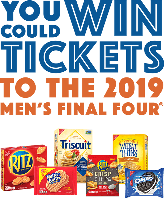 You could win tickets to the 2019 men's final four