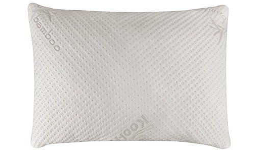 Snugglepedic Ultraluxury Bamboo Shredded Memory Foam Pillow