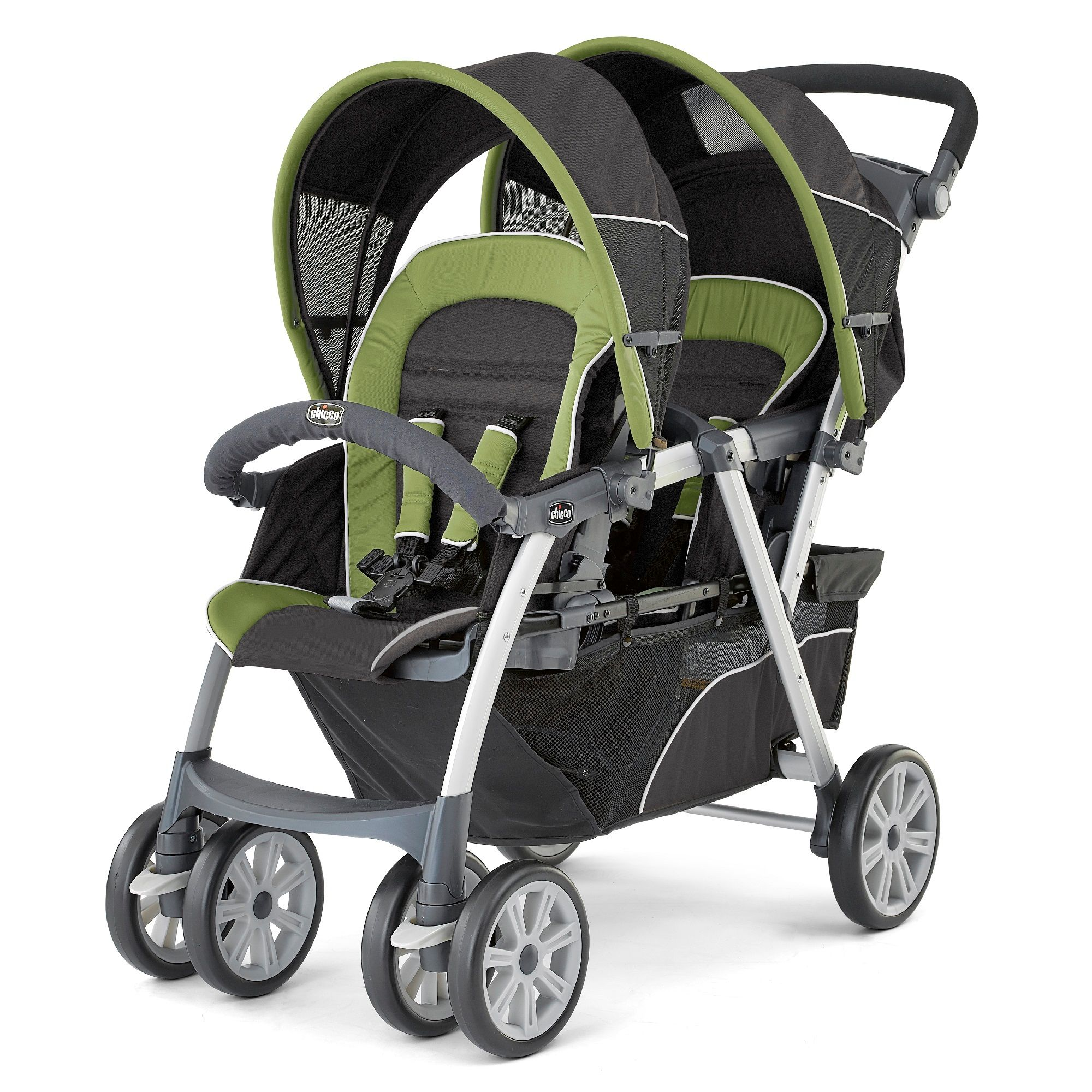 Chicco Cortina Together Double Stroller Elm (With images