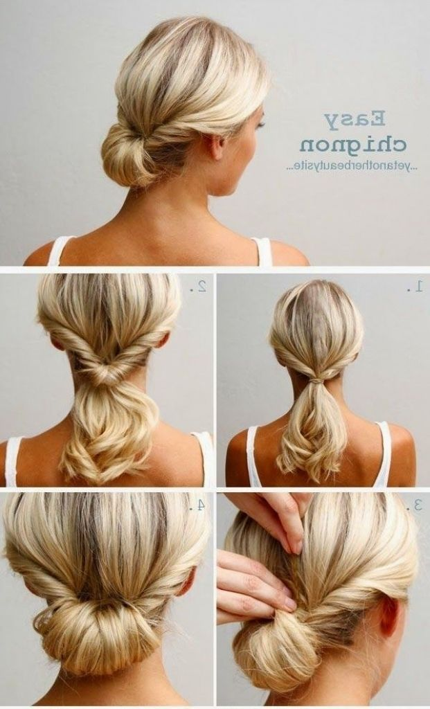 Wedding Guest Hairstyles For Short Hair Hair Styles Chignon Hair Updo Hairstyles Tutorials