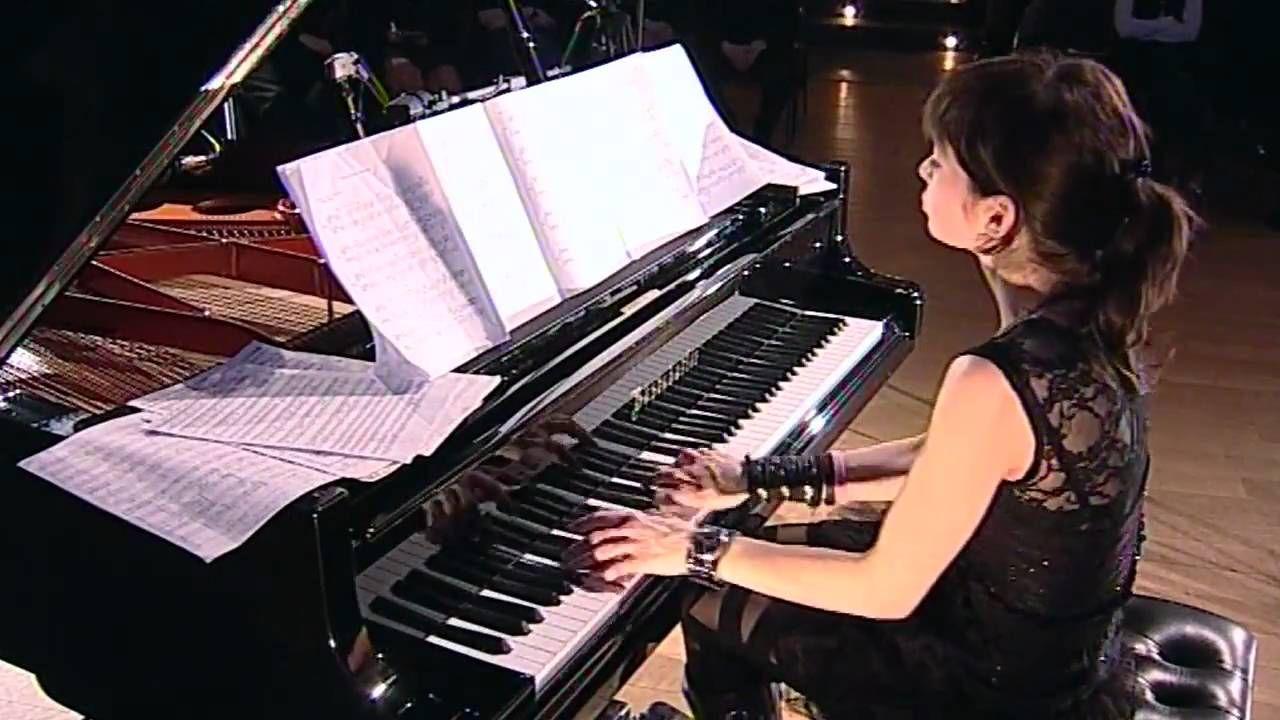 Vika Yermolyeva playing Pink Floyd - Echoes - Zurich, February 19 2011