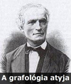 Jean Hippolyte Michon a grafológia atyja