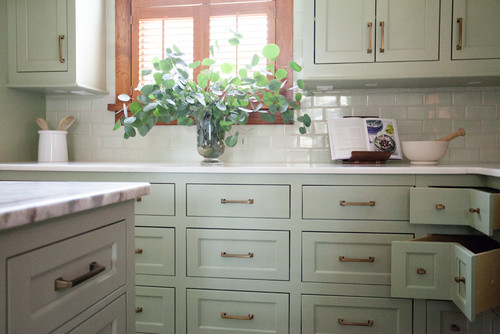 SHERWIN WILLIAMS CLARY SAGE | Kitchen remodel, Corner ...