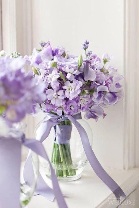 Beautiful Lavender Colors Purple Wedding Bouquets Purple Wedding Flowers Purple Bouquets