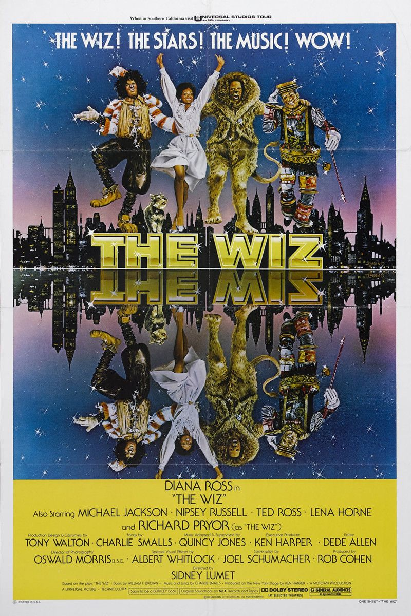 Lumet, Sidney. 1978. The Wiz!. Film. The wiz, African