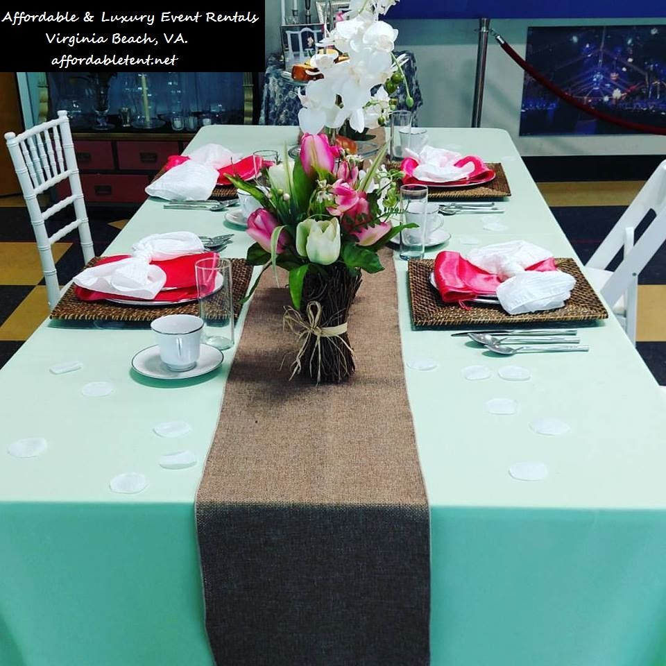 Add A Pop Of Color With Some Bright Napkins