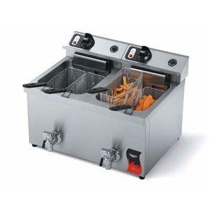 Vollrath 40710 30 Lb Commercial Countertop Deep Fryer 208 240v Wellness Design Air Fryer Review Air Fryers