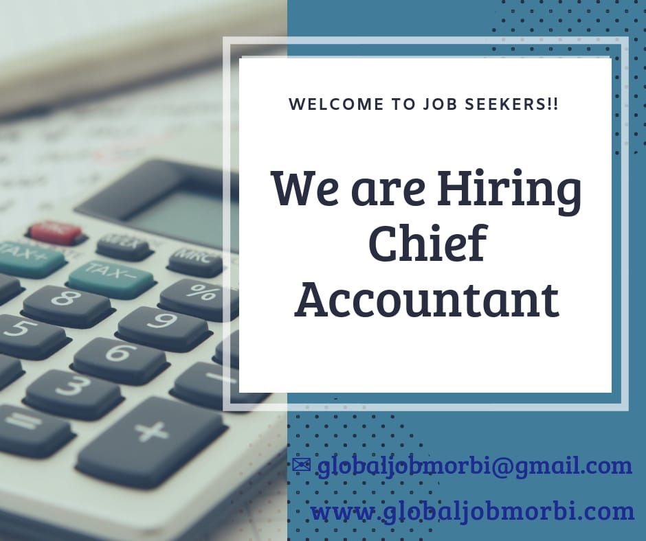 Image result for hiring Chief Accountant