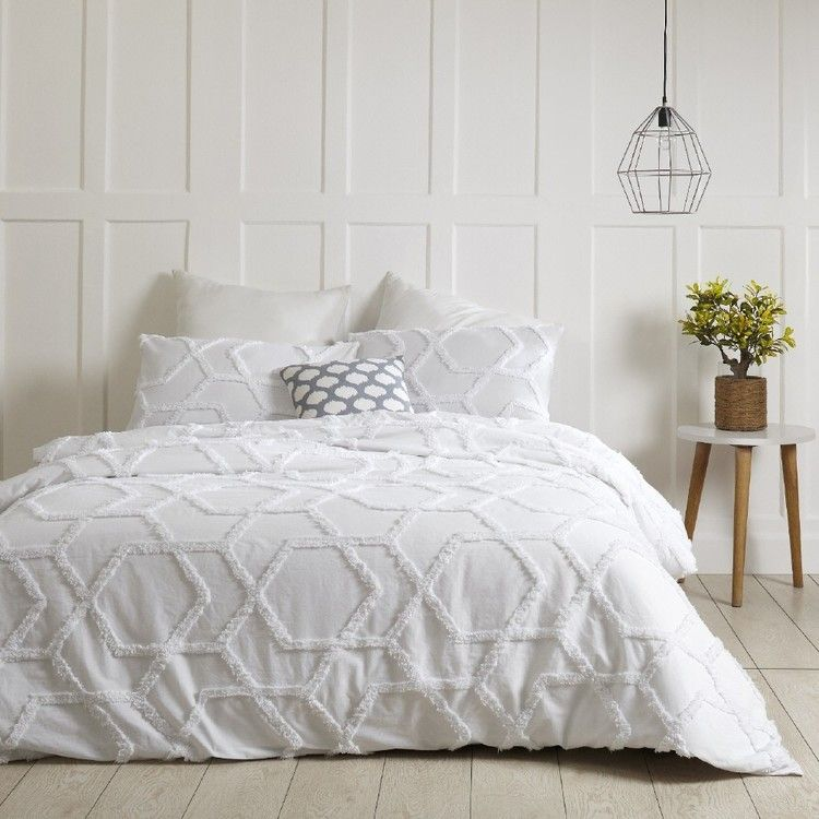 Living Space Granada Tufted Quilt Cover Set Bedroom Inspirations Bedroom Makeover Quilt Cover Sets
