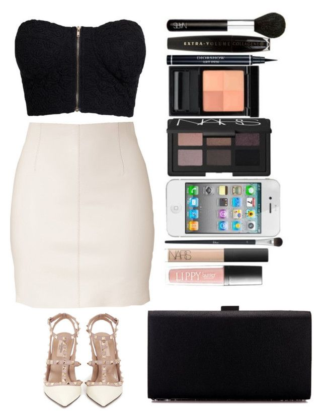 """👑"" by kathy-directioners on Polyvore featuring Dsquared2, NLY Trend and Valentino"