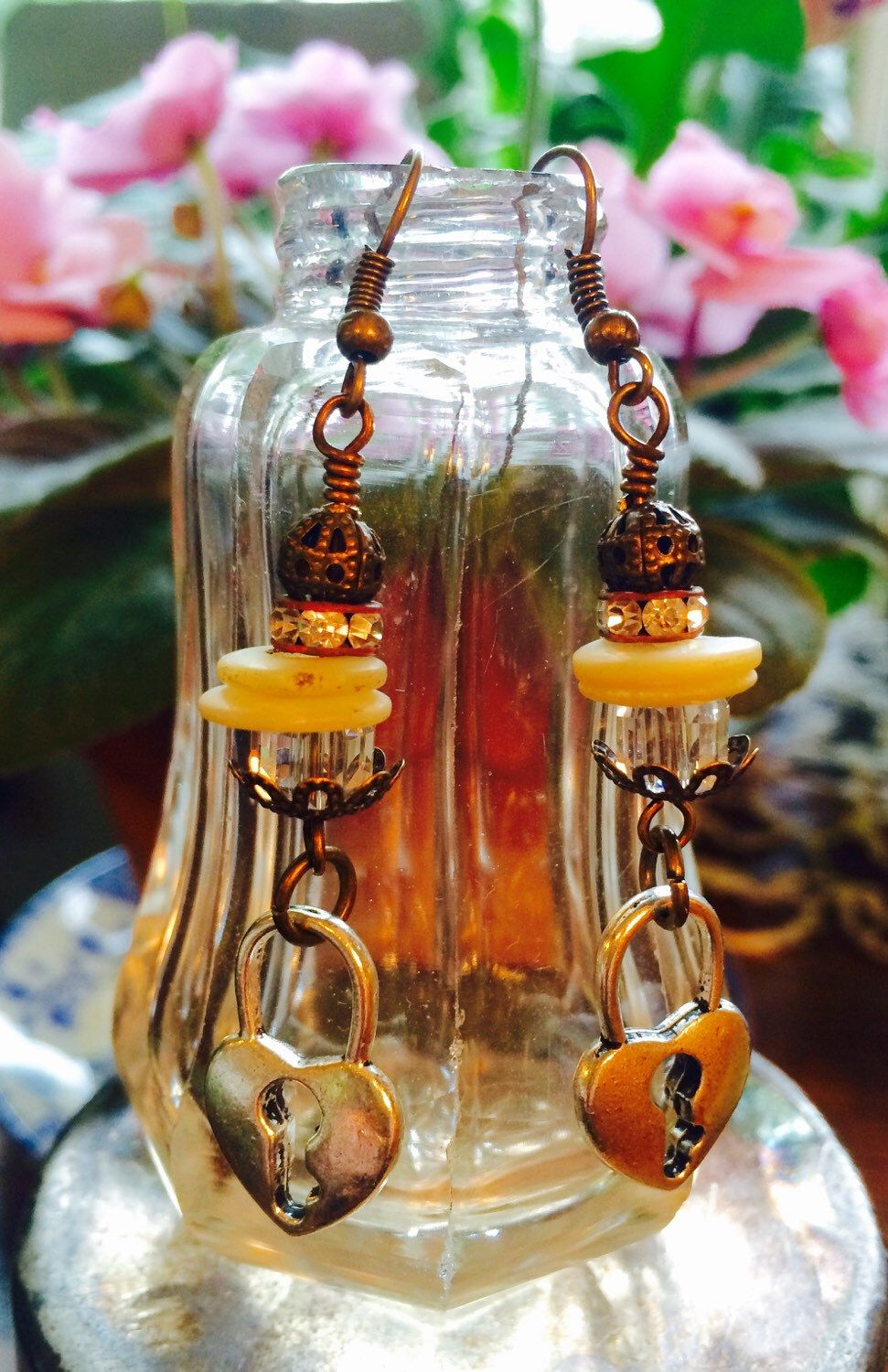 A personal favorite from my Etsy shop https://www.etsy.com/listing/235368385/boho-gypsy-style-heart-shaped-lock