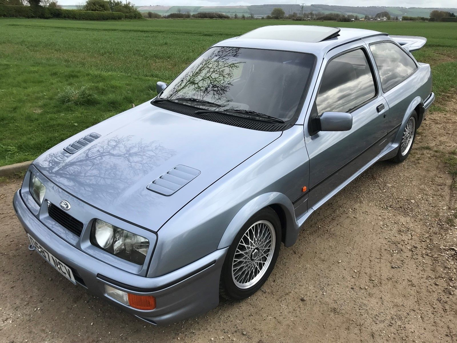 Ebay 1987 Ford Sierra Rs Cosworth 3dr Moonstone Blue In Exceptional Condition Cars 1980s Ford Sierra Ford Ford Classic Cars