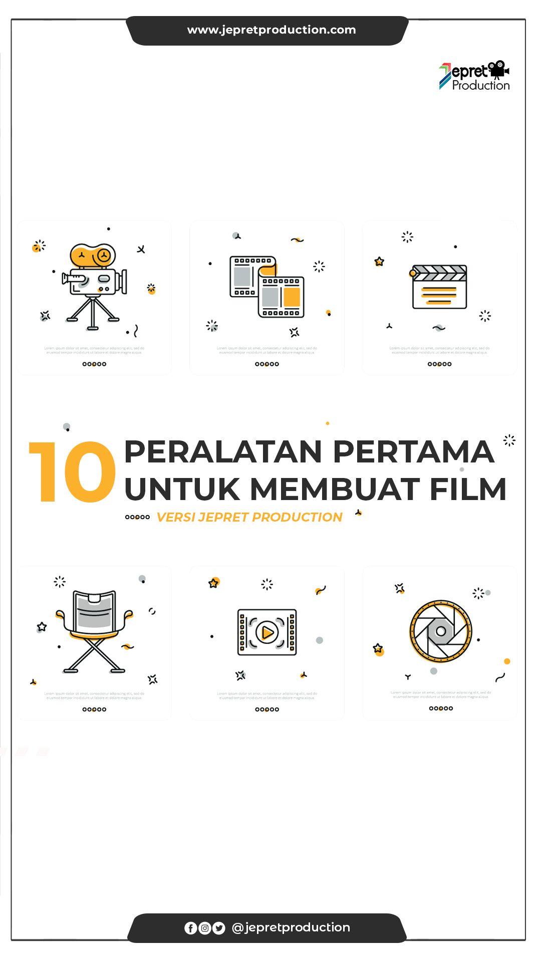 Pin Oleh Jepret Production Di Blog Film Pembuatan Film Video