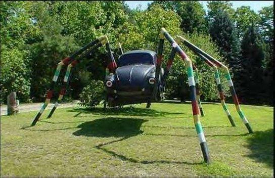Die 10 verrücktesten Autos aller Zeiten! Der Käfer als sein Fressfeind getarnt!