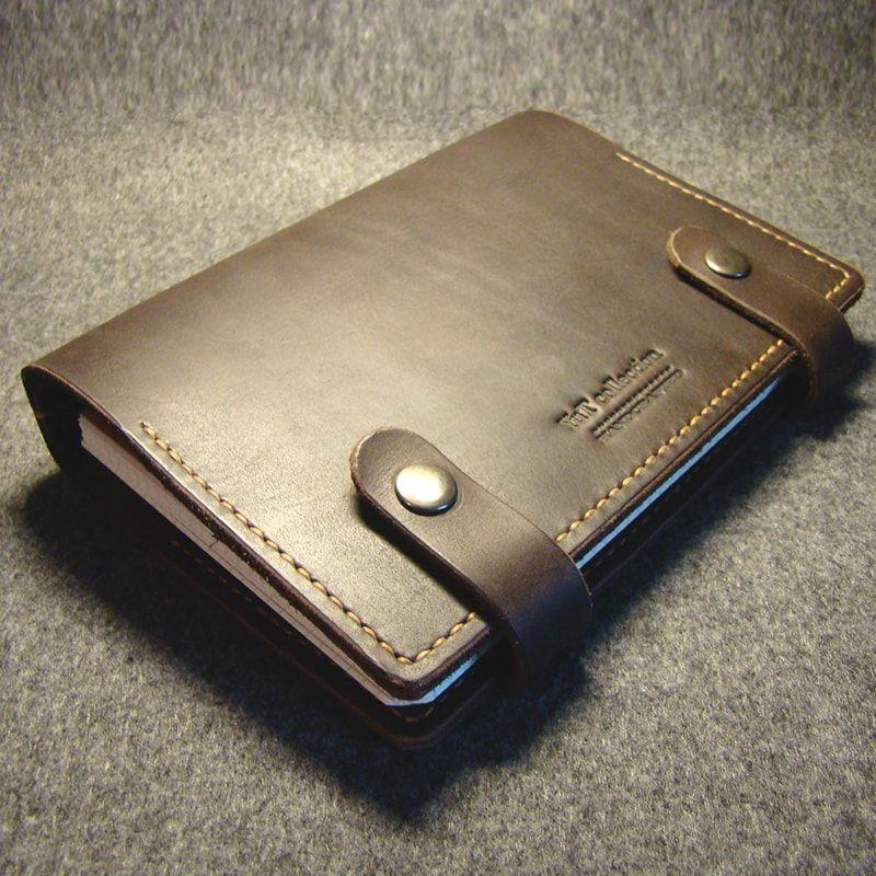 85b45afd5ace Дизайнерский компактный кожаный мужской органайзер – ежедневник в подарок  для бизнесмена. Кожа обработана и прошита