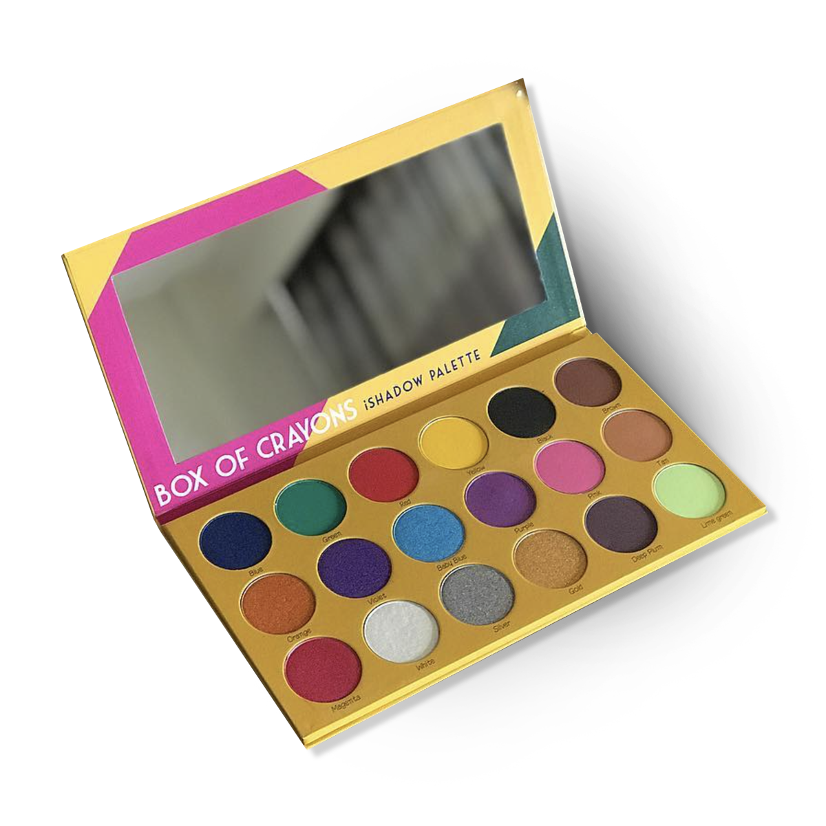 Box Of Crayons Palette Makeup, Face gems, Palette