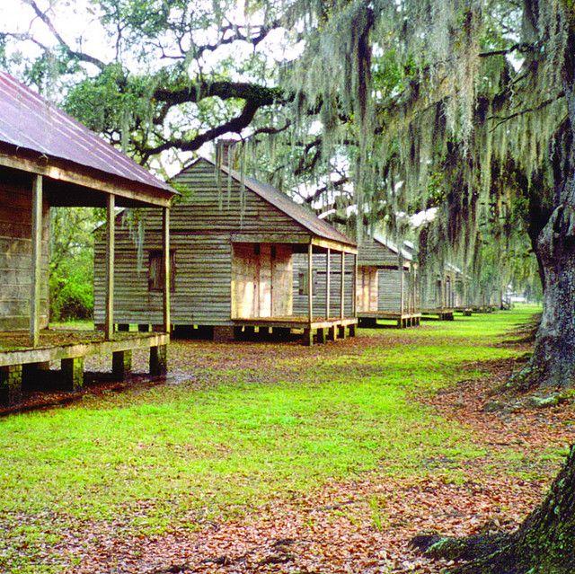 Evergreen Plantation Louisiana Cajun Fire Southern