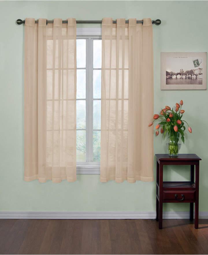 Ellery Homestyles Curtainfresh Grommet Voile 59 X 63 Panel