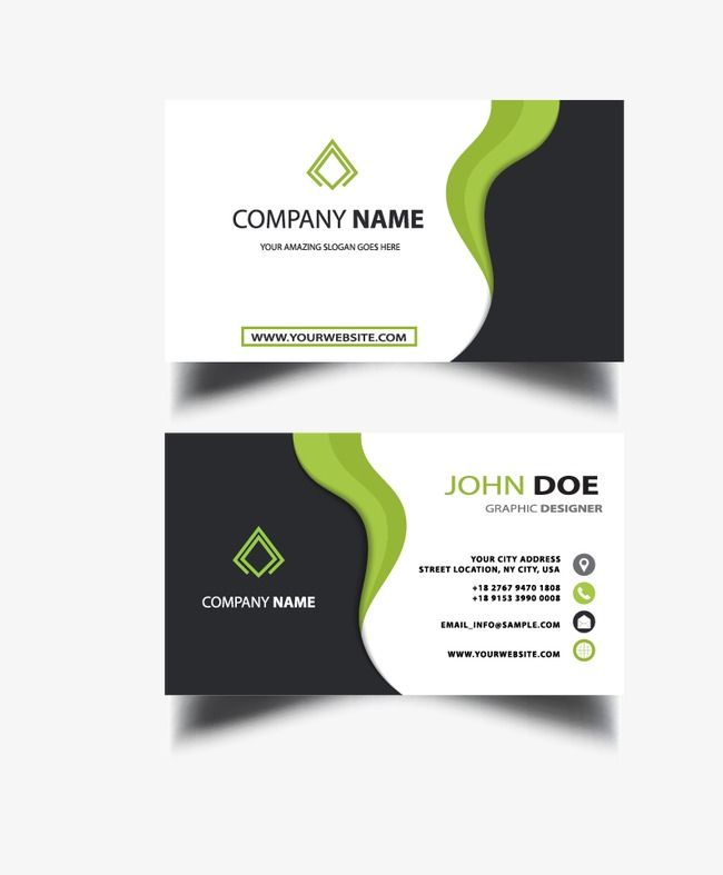 Business Cards Simple Business Cards Business Card Png And
