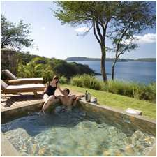 Well, heylow honeymoon private plunge pool....
