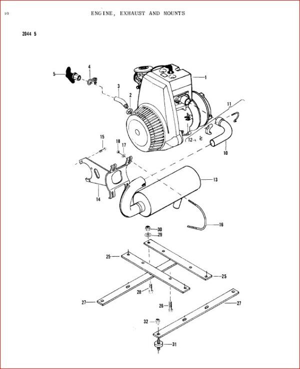 Massey Ferguson Mf 304 304t 344t 404t 444t 404wt 444wt Ski Whiz Parts Manual 651339m91 Download In 2020 Massey Ferguson Manual Ferguson