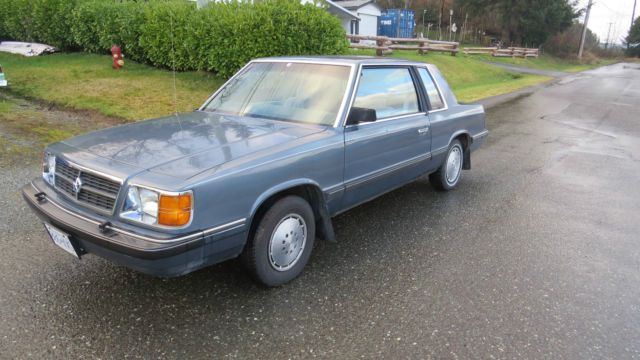 Pin By Matthew Johnson On 1988 Dodge Aries Dodge Aries Coupe