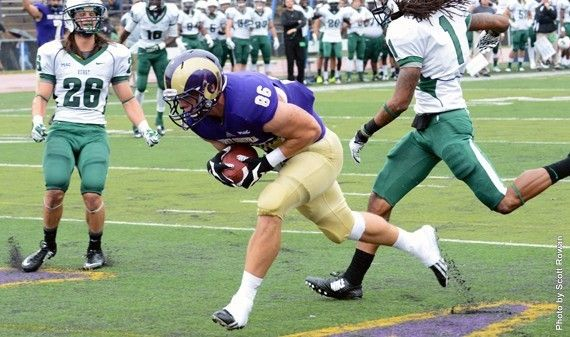 No 9 West Chester Tops Lock Haven 41 16 West Chester University West Chester Athlete