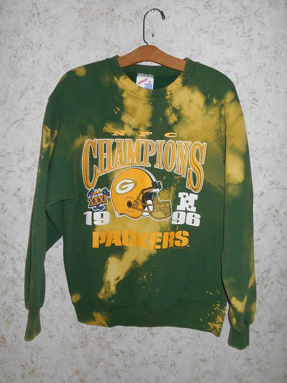 Awesome 1996 superbowl champs Greenbay Packers crewneck GckFFjm