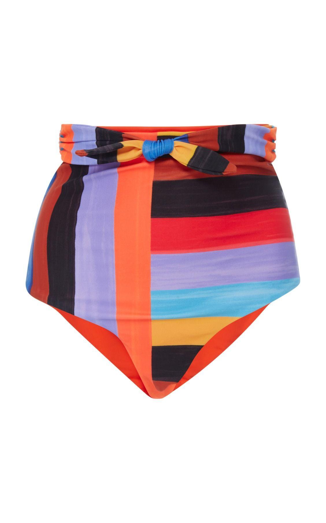 b6cbc43d2c Jay High Waisted Bikini Bottom by Mara Hoffman #bikiniswimwear ...
