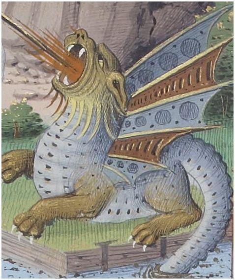 Legende Doree Golden Legend Detail Jacques De Voragine Trans Jean De Vignay 1282 13 B Creature Mythologique Art Et Litterature Creatures Mythiques