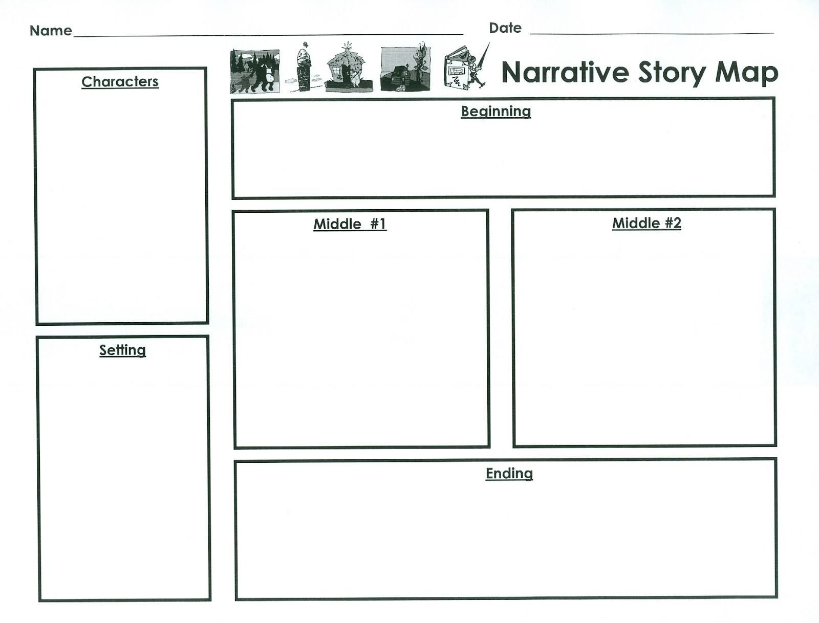 Printable Plot Diagram Template Story Outline Writing
