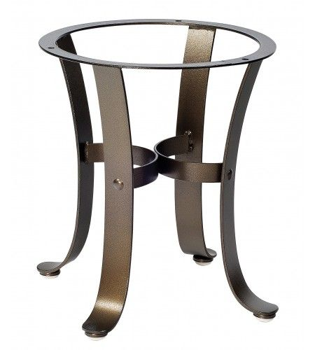 Cascade Wrought Iron End Table Base 2w3900 Moveis Madeira