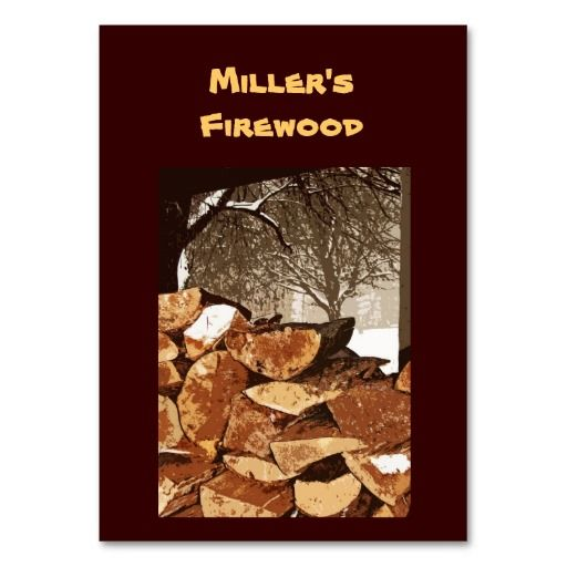 Firewood business card firewood and business cards firewood business card colourmoves