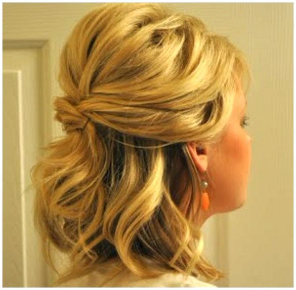 Hairstyles For Weddings Pinterest: Half Up Wedding Hairstyles Pinterest